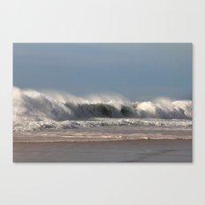Strong Shorebreak Canvas Print