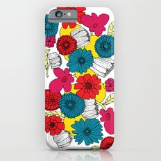 Scandinavian Flowers Slim Case iPhone 6s