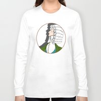 baroque Long Sleeve T-shirts featuring Baroque & Roll by J.Nell Konschak