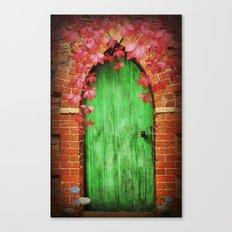 To The  Secret Garden Canvas Print