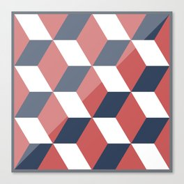 Talavera Pattern Vector Canvas Print