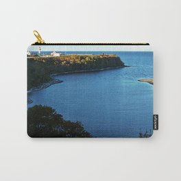 Cap de Madelaine and Lighthouse Carry-All Pouch