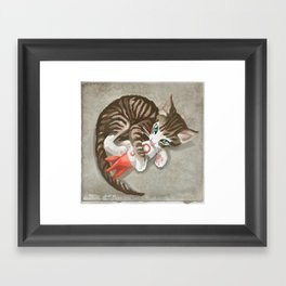 Fallout - Rocket Kitten Framed Art Print