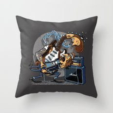The Offender Throw Pillow