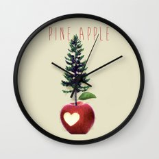 Pine Apple Wall Clock