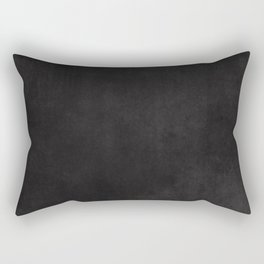 Simple Chalkboard background- black - Autum World Rectangular Pillow
