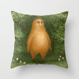 His name is Omlette Throw Pillow
