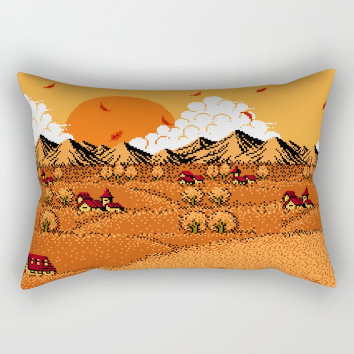 The Golden Years of Our Lives Rectangular Pillow
