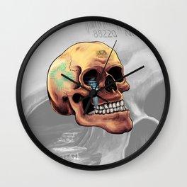Zia Skull Wall Clock