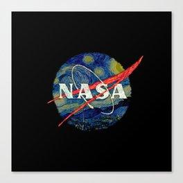 Starry Nasa Canvas Print