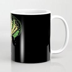 Zombie Skeleton Brain Vintage Mug
