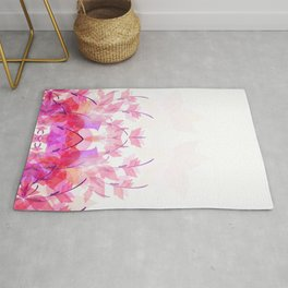 Soft butterfly Rug
