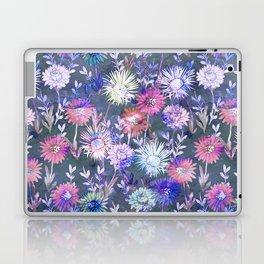 Gillian Floral Gray Laptop & iPad Skin