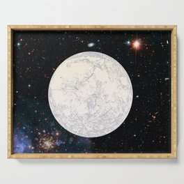 Moon machinations Serving Tray