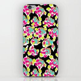 Ikat Blooms iPhone Skin