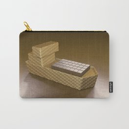Chocolate Ship - 3D Art Carry-All Pouch