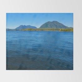 Tofino, Vancouver Island BC Throw Blanket