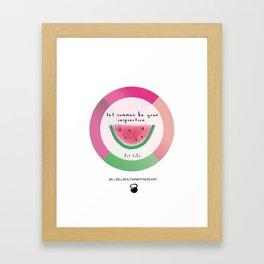 Fitspo Framed Art Print