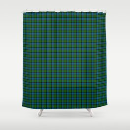 Fletcher Tartan Plaid Shower Curtain