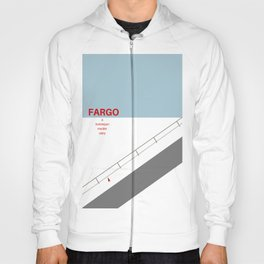 Fargo minimalist poster Hoody
