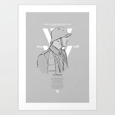 WW1 Centenary Art Print