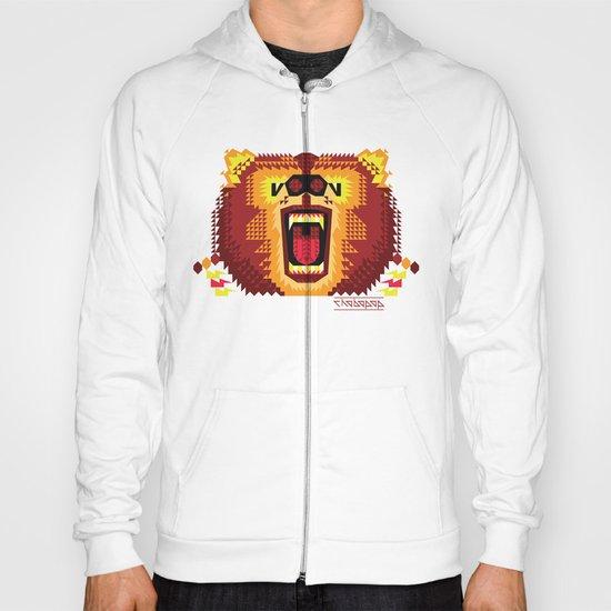 Geometric Bear 2012 Hoody