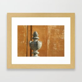 Vatican Architectural Detail Framed Art Print