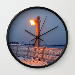 The Chill is On Wall Clock