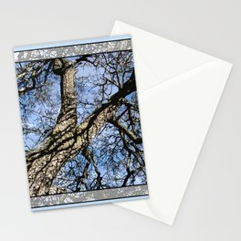 WINTER PEAR TREE Stationery Cards