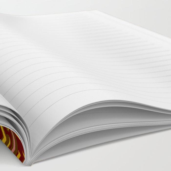 Thai Fabric Patterns - Temple Colour Palette Notebook