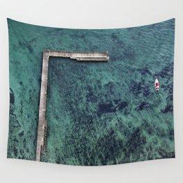 Portsea Pier Wall Tapestry