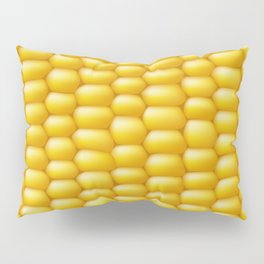 Corn Cob Background Pillow Sham