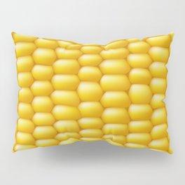 Corn Cob Background Pillow Sham