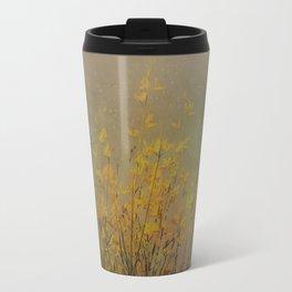 Vintage flowering bloom Travel Mug