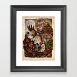 Labyrinth Tribute Framed Art Print