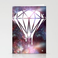 diamond Stationery Cards featuring Diamond by jeff'walker