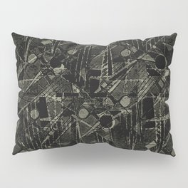 Abstract Collage Patchwork Pattern Pillow Sham