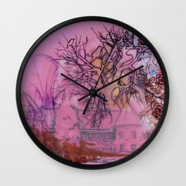 Everette Mansion Wall Clock