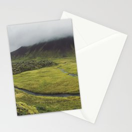 green for days Stationery Cards