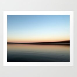 Lake Copeton Art Print