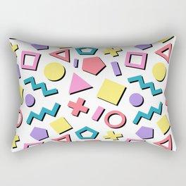 Pastel 90's Pattern Rectangular Pillow