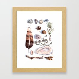 Nature collection # 1 Framed Art Print