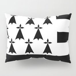 Brittany flag emblem Pillow Sham