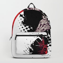 Ripped Out Heart Backpack