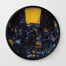 Ghost In The Shell Vibes / Liam Wong / Hong Kong Cyberpunk Wall Clock