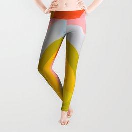 Multi Colour Corner Wall Art Leggings