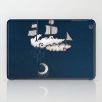 ship iPad Cases featuring SHIP by Jumanaah Hiasat
