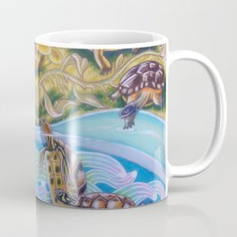 Torrent Of Turtles Coffee Mug