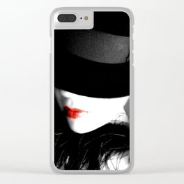 Read My Lips Clear iPhone Case