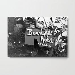 Beverly Hills Trance Metal Print